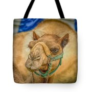 Christmas Camel On Call Tote Bag