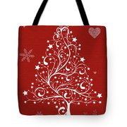 Christmas Card 5 Tote Bag