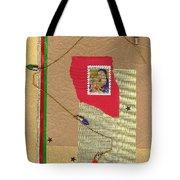 Christmas Card Tote Bag