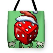 Christmas Casino Party Tote Bag