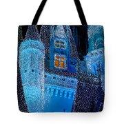Christmas Castle Tote Bag