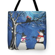 Christmas Cats In Love Tote Bag