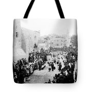 Christmas Celebration 1900s Tote Bag