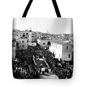 Christmas Celebration In 1901s Tote Bag