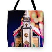 Christmas Chapel 2 Tote Bag
