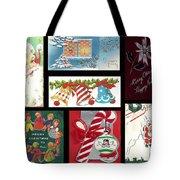 Christmas Collage  Tote Bag