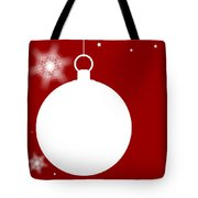 Christmas Copy Space Tote Bag