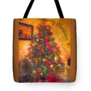 Christmas Corner Tote Bag