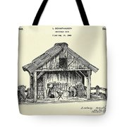 Christmas Crib-1940 Tote Bag