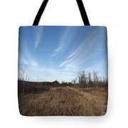 Christmas Day In The Country Tote Bag