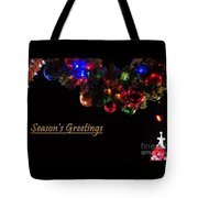 Christmas Decoration Greeting  Tote Bag