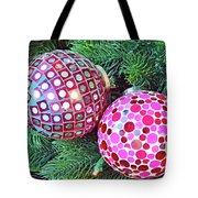 Christmas Dots No. 1-1 Tote Bag