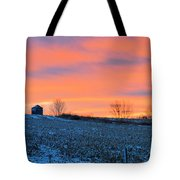 Christmas Eve Panrama Tote Bag