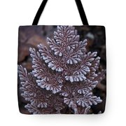 Christmas Frosty Pattern Tote Bag