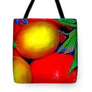 Christmas Fruit Tote Bag