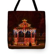 Christmas Gazebo Tote Bag