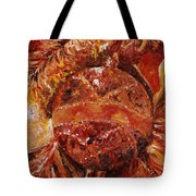 Christmas Glitter Tote Bag