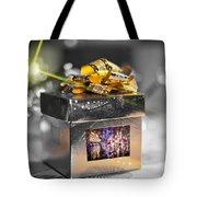 Christmas Golden Gift  Tote Bag