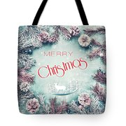 Christmas Greeting Card, By Imagineisle Tote Bag