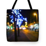 Christmas Heart Tote Bag