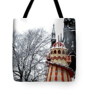 Christmas Helter Skelter Scotland Tote Bag