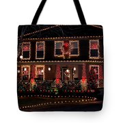 Christmas House-2 Tote Bag