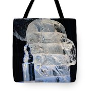 Christmas Ice Sculpture Angel Tote Bag