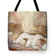 Christmas Illustrations From The Night Before Christmas Tote Bag