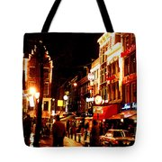 Christmas In Amsterdam Tote Bag