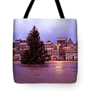 Christmas In Amsterdam The Netherlands Tote Bag