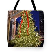 Christmas In Chicago Tote Bag