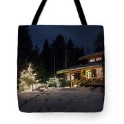 Christmas In Finland Tote Bag