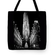 Christmas In New York City Tote Bag
