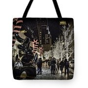 Christmas In Nyc Tote Bag