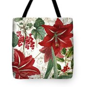 Christmas In Paris II Tote Bag