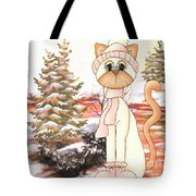 Christmas In The Forest Tote Bag