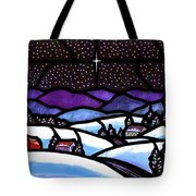Christmas In The Shenandoah Valey Tote Bag