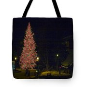 Christmas In Vail Tote Bag