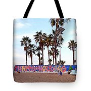 Christmas In Venice Beach Tote Bag