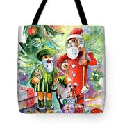 Christmas In York Tote Bag