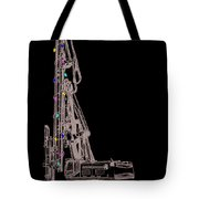 Christmas Intercoastal Abi Tote Bag