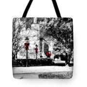 Christmas Jackson Square Tote Bag