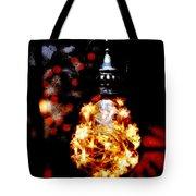 Christmas Lantern Tote Bag