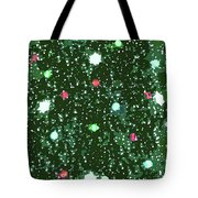 Christmas Lights No. 7-1 Tote Bag