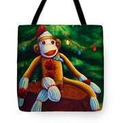 Christmas Made Of Sockies Tote Bag
