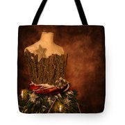 Christmas Mannequin Tote Bag