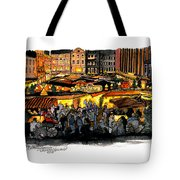 Christmas Market Recklinghausen Tote Bag