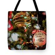 Christmas Martini 4389 Tote Bag