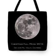 Christmas Moon 2015 Tote Bag