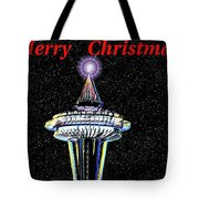 Christmas Needle Tote Bag